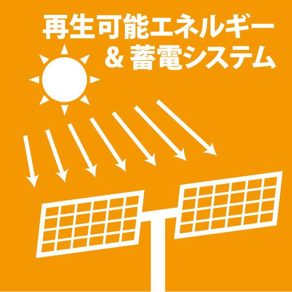 再生可能エネルギー&蓄電システム